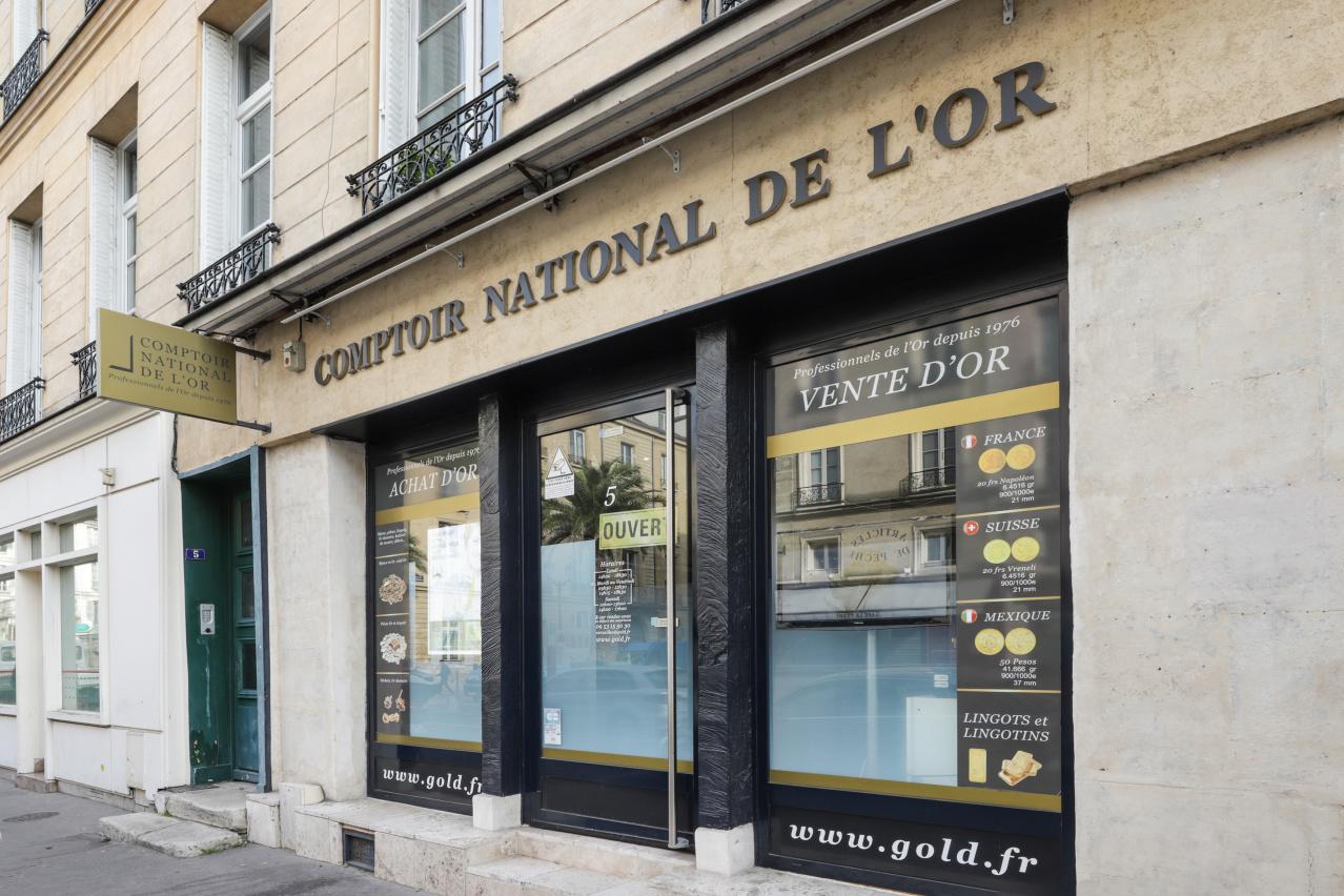 Nos meilleurs comptoirs d'achat d'Or à proximité de Vélizy-Villacoublay (78140)