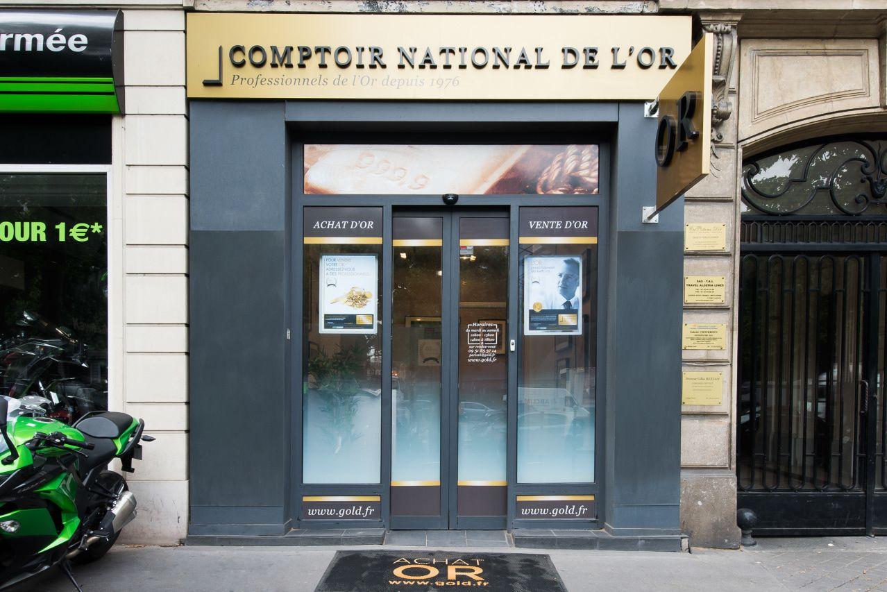 Nos meilleurs comptoirs d'achat d'Or à Paris (75000)