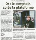Dernières Nouvelles d'Alsace parle de la future agence de Colmar - Ouverture au printemps