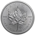 1 oz Maple Leaf | Argent | 2019