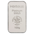 Lingotin 100g - Platine en Or
