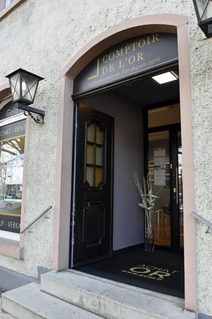 Comptoir d'achat et de vente d'Or de Breisach Comptoir National de l'Or de Breisach - Achat et Vente d'Or - devanture 2