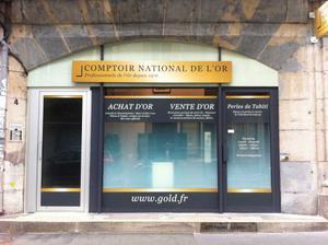 Achat Or & Vente d'Or Besançon 25000 Rachat d'Or à Besançon Comptoir National de l'Or de Besançon
