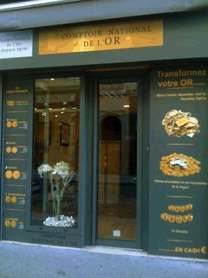 Achat Or & Vente d'Or Lyon 69002 Rachat d'Or à Lyon Comptoir National de l'Or de Lyon