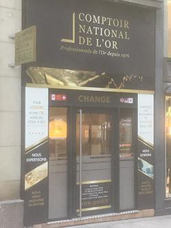 Comptoir National de l'Or d'Angers Comptoir d'achat et de vente d'Or d'Angers