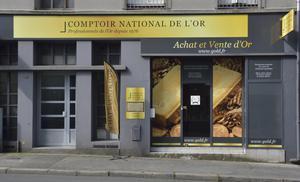 Achat Or & Vente d'Or Brest 29200 Rachat d'Or à Brest Comptoir National de l'Or de Brest Extérieur