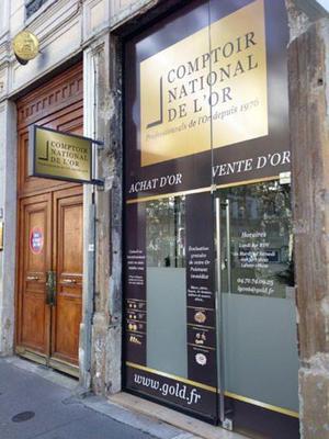 Comptoir National de l'Or de Lyon 69006 - Achat et Vente d'Or