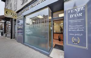 Achat Or & Vente d'Or Aurillac 15000 - Devanture 2 Comptoir d'achat et de vente d'Or de Aurillac - Devanture 2