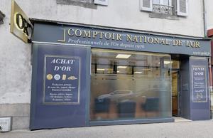 Comptoir d'achat et de vente d'Or d'Aurillac Comptoir d'achat et de vente d'Or de Aurillac - Devanture 1