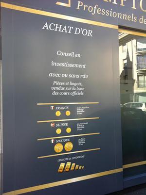 Or Investissement Aurillac 15000