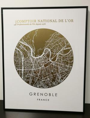 Comptoir National de l'Or Grenoble Tableau cndo Grenoble