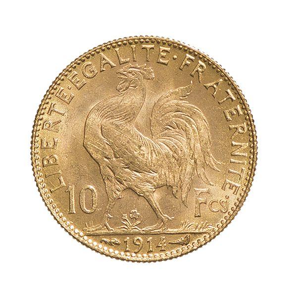 Demi Napoléon / 10 Frs Napoléon en Or