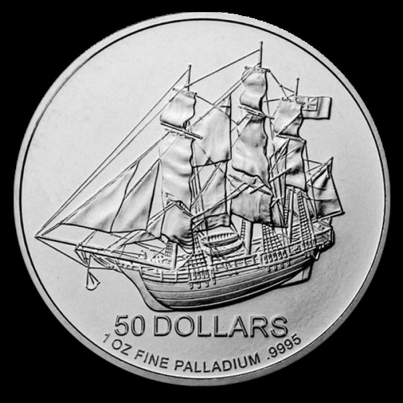 Cook Island 1oz - Palladium en Or