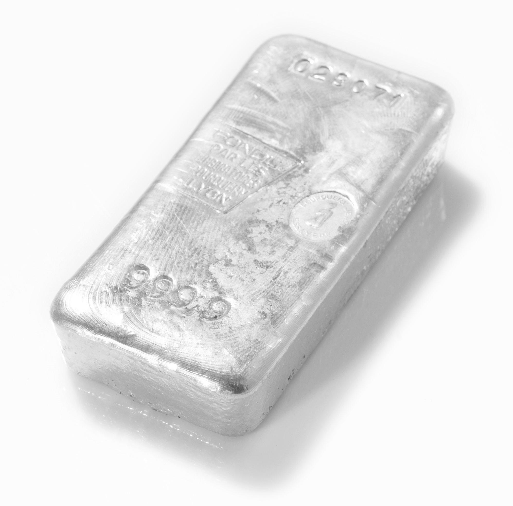 Lingot de Palladium 1 Kg en Or