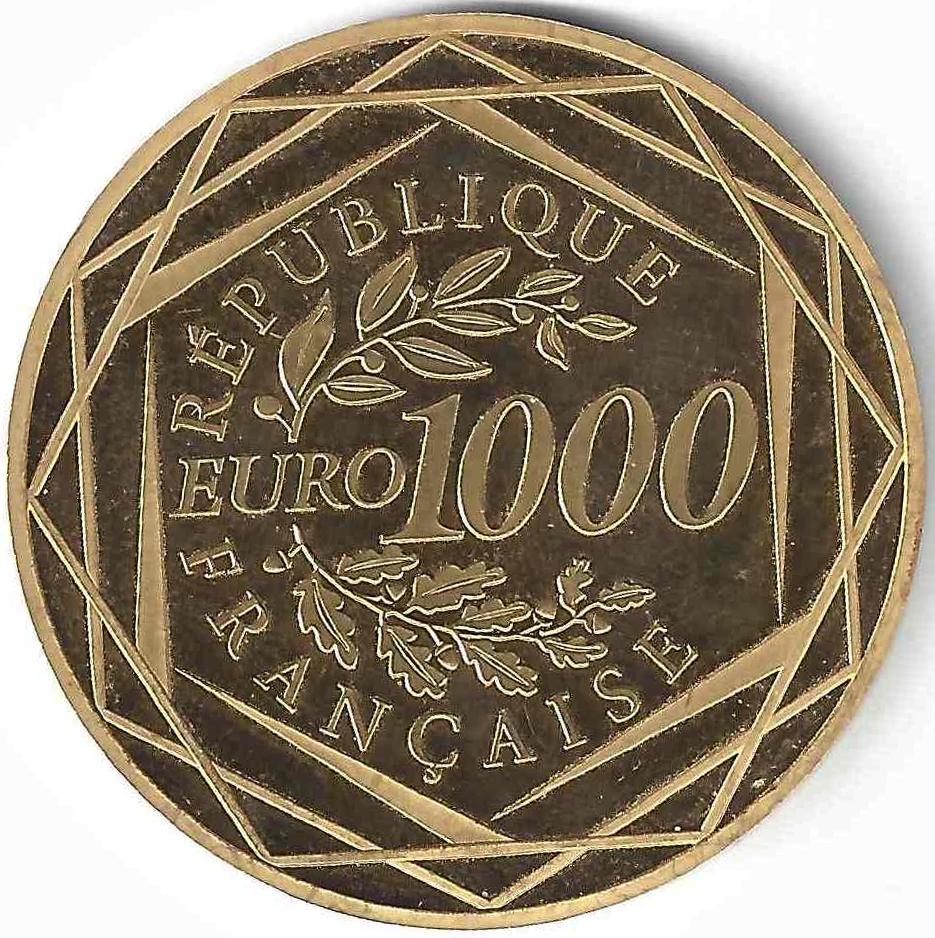 1000 €uros en Or