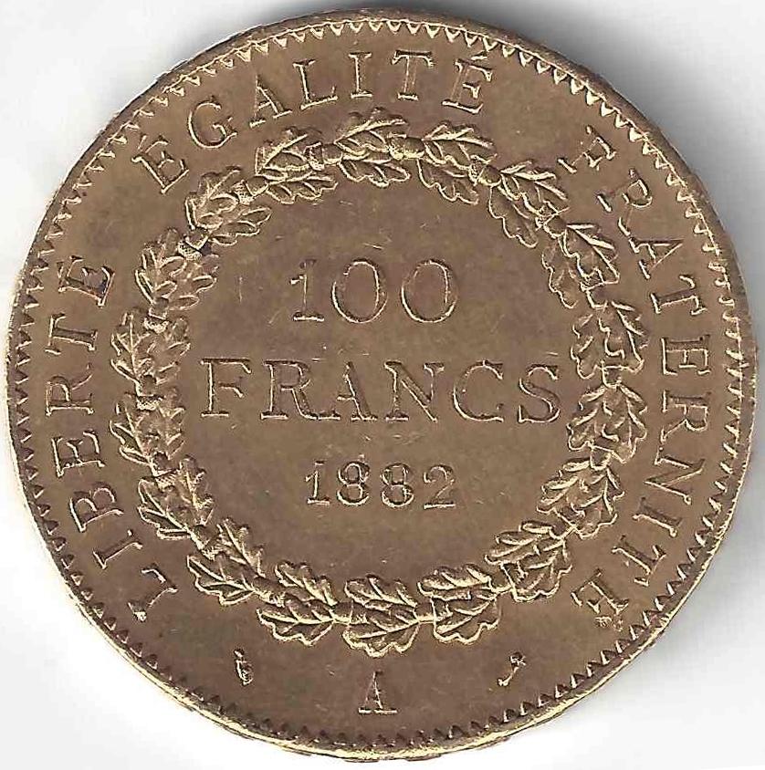 Napoléon 100 Frs en Or