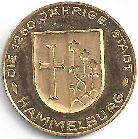 Médaille Hammelburg en Or
