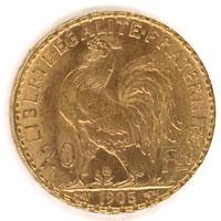 Napoléons 20 Francs en Or
