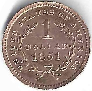 1 Dollar en Or