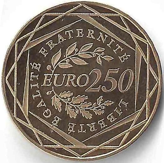 250 €uros en Or