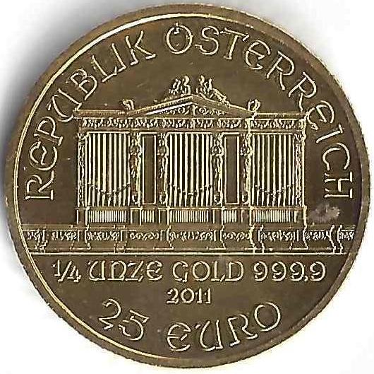 25 euro en Or