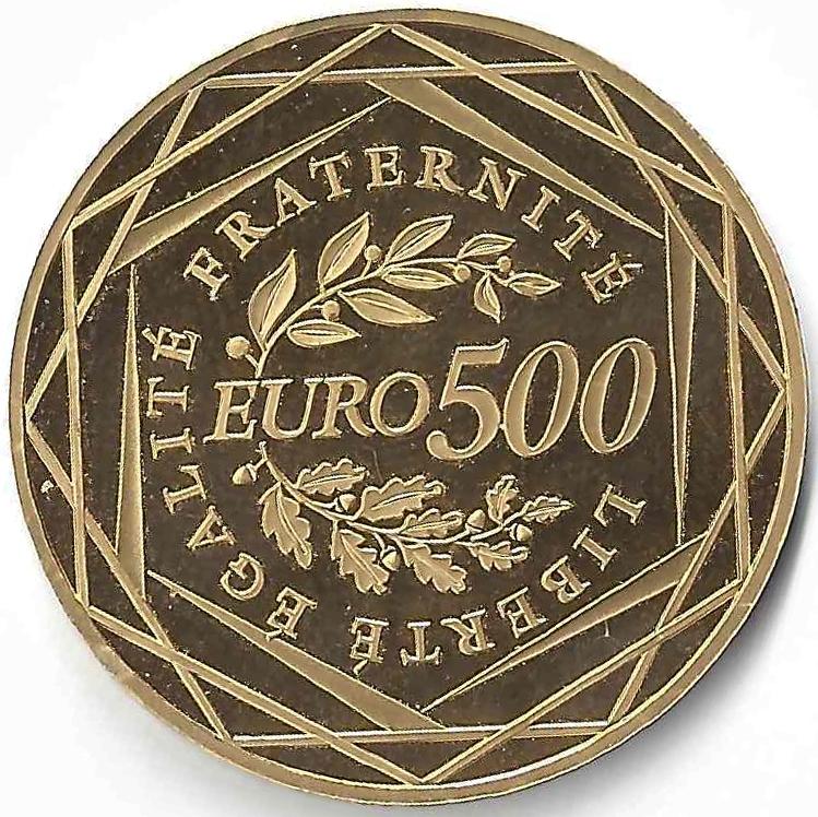 500 €uros en Or