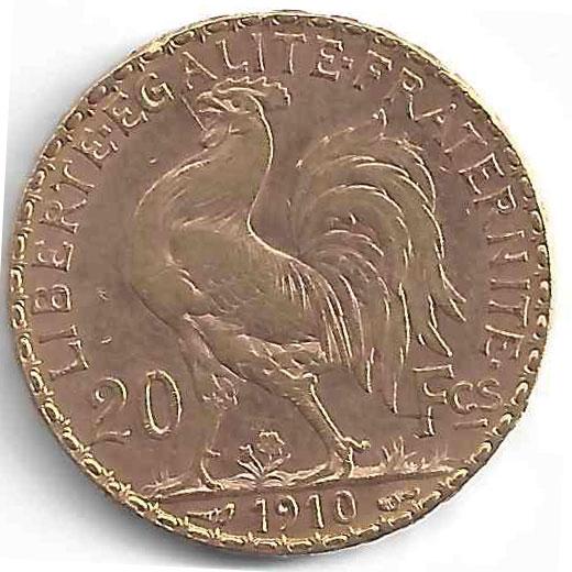 Napoléon 20 Francs en Or