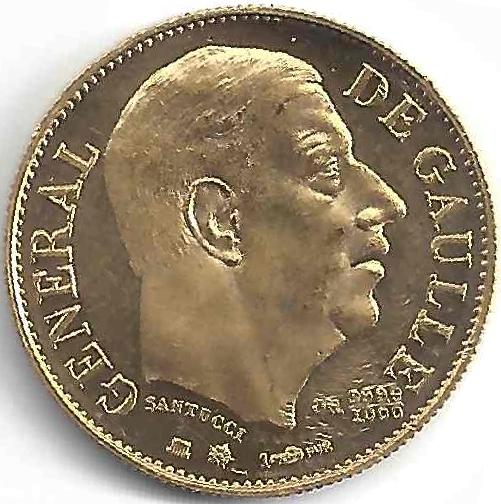 Charles de Gaulle en Or