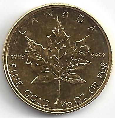 5 Dollars Elisabeth II en Or