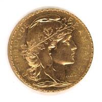 Napoléon 20 Frs Or en Or