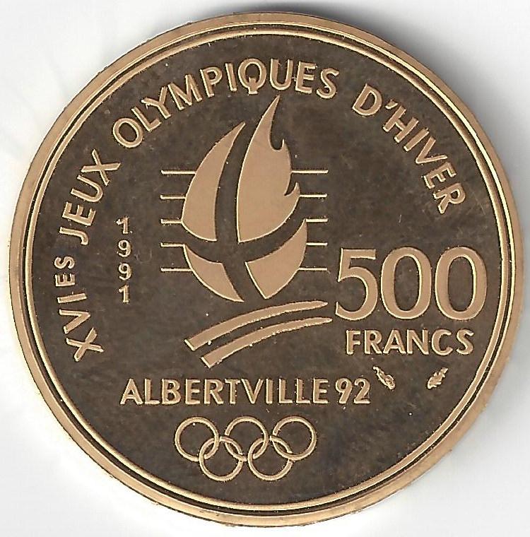 500 Francs or JO en Or
