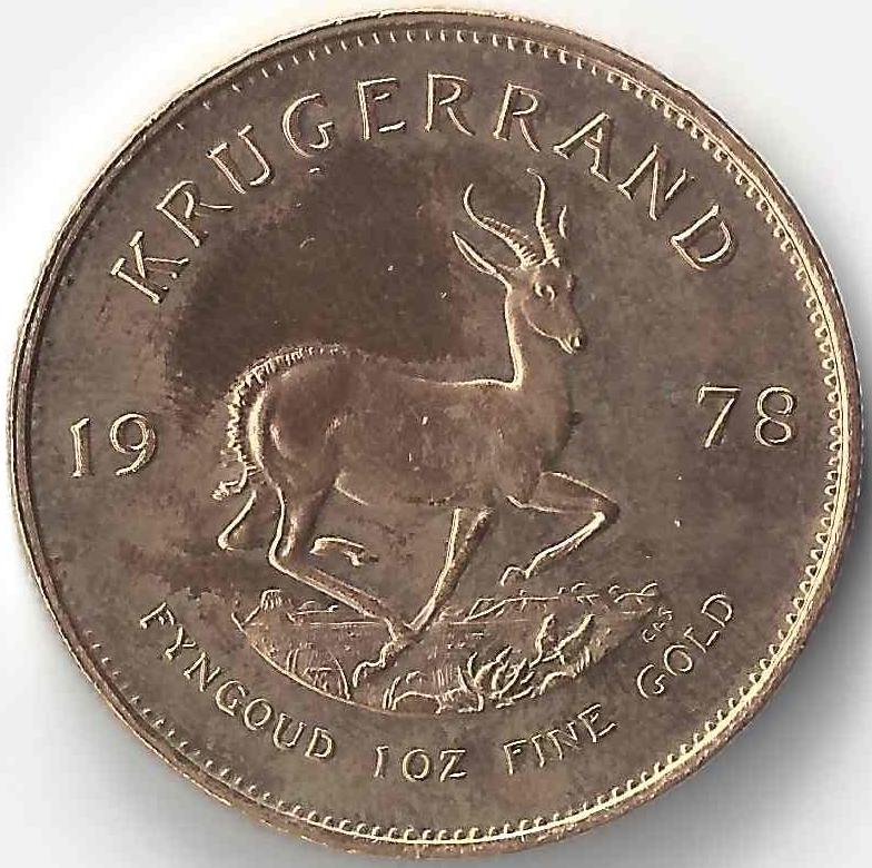 1 Krugerrand en Or