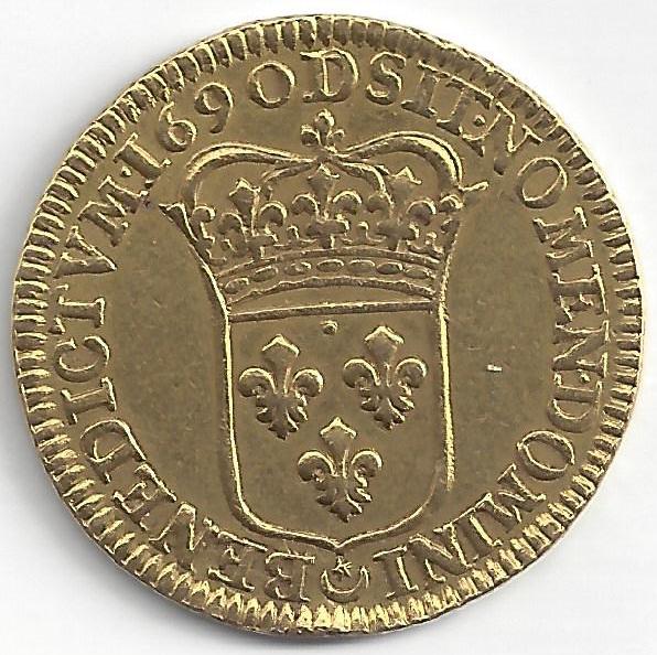 Louis XIV  en Or
