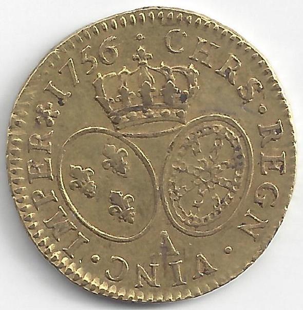 Louis XV en Or