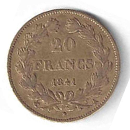 Louis Philippe I en Or
