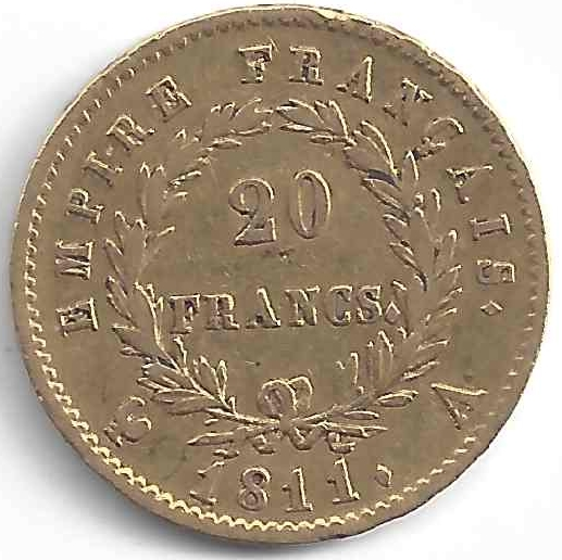 Napoléon Empereur en Or