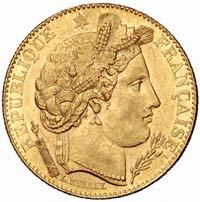 Napoléon 10 Frs Or Cérès en Or