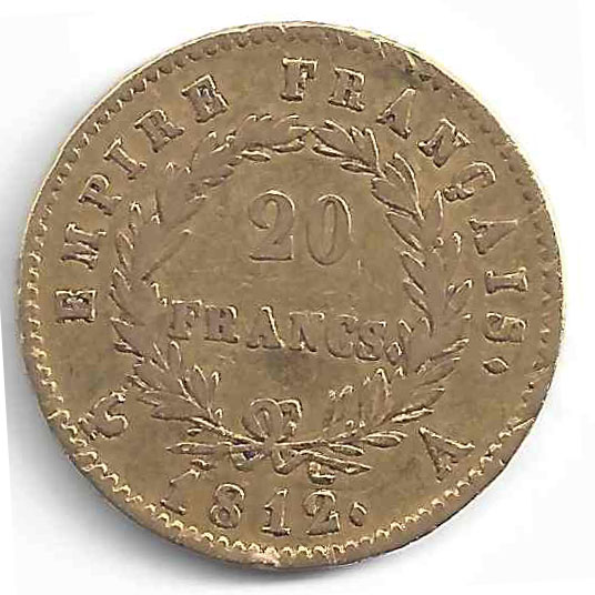 Napoléon 20 Francs en Or