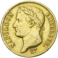 Napoléon 40 Frs Or en Or