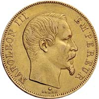 Napoléon 50 Frs Or en Or