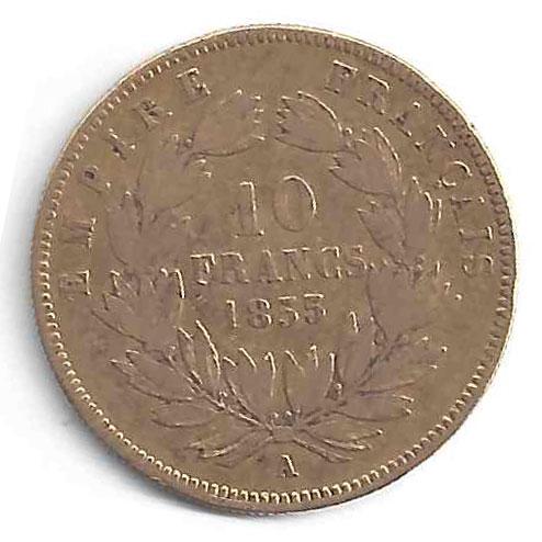 Napoléon 10Frs en Or