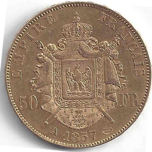 Napoléon III 50Frs en Or