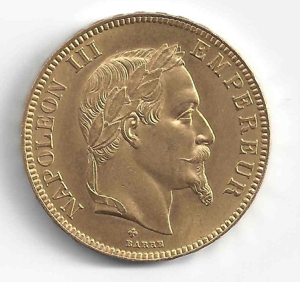 Napoleon 100F en Or