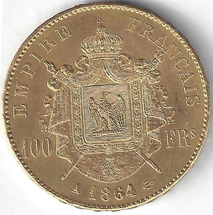 Napoléon 100 Francs en Or