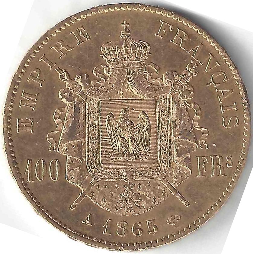 Napoléon III 100 Francs en Or