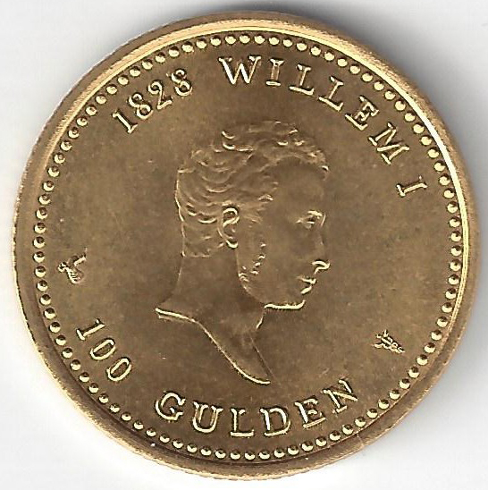100 Gulden en Or