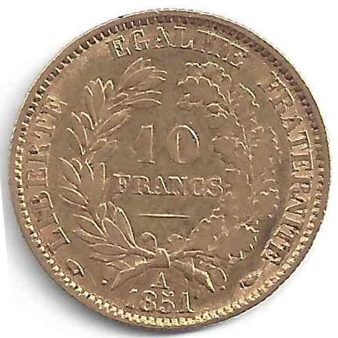 Napoléon 10 Francs en Or