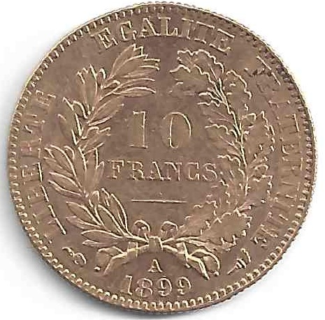 Napoléon 10 Francs en Or