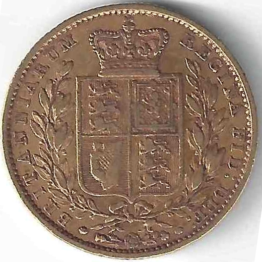 20 Lire Victor Emmanuel II en Or