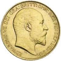 Souverain Or Edouard VII en Or
